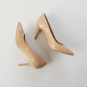 Old Navy Basic Nude Point Heels